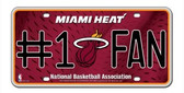 Miami Heat License Plate - #1 Fan