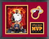 Miami Heat LeBron James 4 Time MVP Milestones & Memories