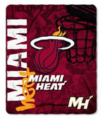 Miami Heat 50x60 Fleece Blanket - Hard Knock Design