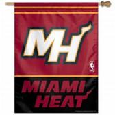 """Miami Heat 27""""x37"""" Banner"""