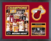 Miami Heat 2012 NBA Champions Milestones & Memories