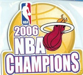 Miami Heat 2006 NBA Champions Car Magnet