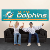 Miami Dolphins 8' Banner