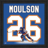 Matt Moulson New York Islanders 20x20 Framed Uniframe Jersey Photo