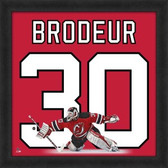 Martin Brodeur New Jersey Devils 20x20 Framed Uniframe Jersey Photo