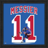 Mark Messier New York Rangers 20x20 Framed Uniframe Jersey Photo