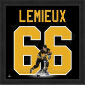 Mario Lemieux Pittsburgh Penguins 20x20 Framed Uniframe Jersey Photo