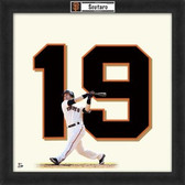 Marco Scutaro San Francisco Giants 20x20 Framed Uniframe Jersey Photo