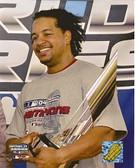 Manny Ramirez Boston Red Sox 2004 World Series MVP 8x10 Photo