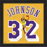 Magic Johnson Los Angeles Lakers 20x20 Framed Uniframe Jersey Photo