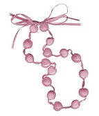Lucky Kukui Nuts Necklace - Pink