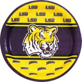 "Lousiana State Tigers 9"" Paper Plates"