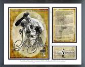 Lou Gehrig Farewell Speech Milestones & Memories Framed Photo