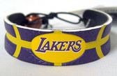 Los Angeles Lakers Team Color Basketball Bracelet