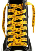 Los Angeles Lakers Shoe Laces - 54""