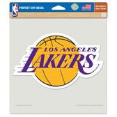 """Los Angeles Lakers Die-cut Decal - 8""""x8"""" Color"""