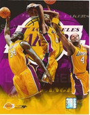 Los Angeles Lakers Big 3 8x10 Photo