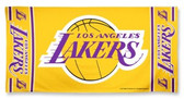 Los Angeles Lakers Beach Towel