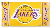 Los Angeles Lakers Beach Towel