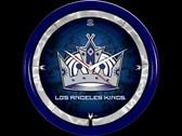 Los Angeles Kings Plasma Clock