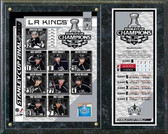 Los Angeles Kings 2012 Stanley Cup Champions Plaque