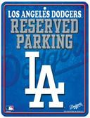Los Angeles Dodgers Metal Parking Sign