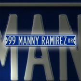 Los Angeles Dodgers Manny Ramirez Drive Sign