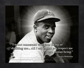 Los Angeles Dodgers Jackie Robinson 8x10 Framed Pro Quote Photo