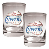 Los Angeles Clippers Rocks Glass Set