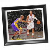 Los Angeles Clippers Chris Paul Framed Stretched 22x26 Canvas