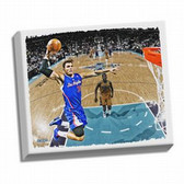 Los Angeles Clippers Blake Griffin Dunk Stretched 22x26 Canvas