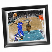 Los Angeles Clippers Blake Griffin Dunk Framed Stretched 32x40 Canvas
