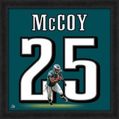 LeSean McCoy Philadelphia Eagles 20x20 Framed Uniframe Jersey Photo