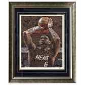LeBron James Framed 16x20 Mosaic