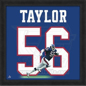 Lawrence Taylor New York Giants 20x20 Framed Uniframe Jersey Photo