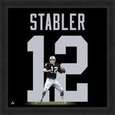 Ken Stabler Oakland Raiders 20x20 Framed Uniframe Jersey Photo