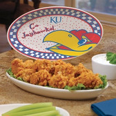 Kansas Jayhawks Gameday Ceramic Platter