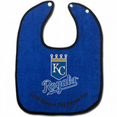 Kansas City Royals Two-Toned Snap Baby Bib
