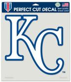 """Kansas City Royals Die-Cut Decal - 8""""x8"""" Color"""