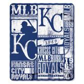 Kansas City Royals 50x60 Fleece Blanket - Strength Design