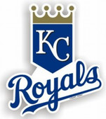 "Kansas City Royals 12"" Car Magnet"