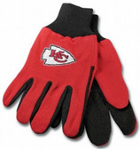 Kansas City Chiefs Two Tone Gloves