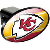 Kansas City Chiefs Trailer Hitch Cover HCC2025