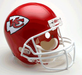 Kansas City Chiefs Riddell Full Size Deluxe Replica Football Helmet