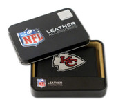Kansas City Chiefs Embroidered Leather Tri-Fold Wallet
