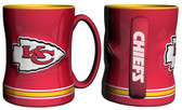 Kansas City Chiefs Coffee Mug - 15oz Sculpted
