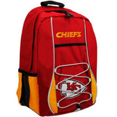 Kansas City Chiefs Back Pack - Red Scrimmage Style