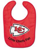 Kansas City Chiefs Baby Bib - All Pro Little Fan