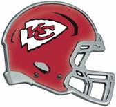 Kansas City Chiefs Auto Emblem - Helmet