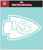 "Kansas City Chiefs 8""x8"" Die-Cut Decal"